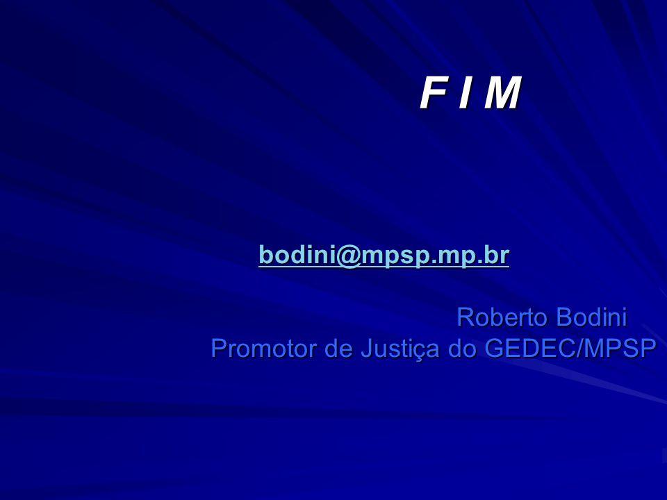 Promotor de Justiça do GEDEC/MPSP