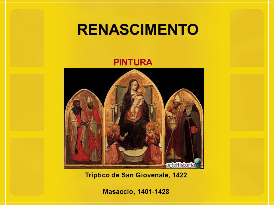 Tríptico de San Giovenale, 1422