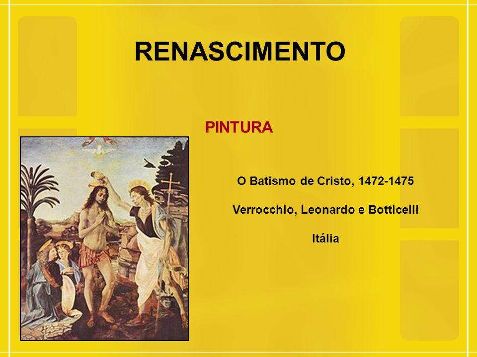 Verrocchio, Leonardo e Botticelli