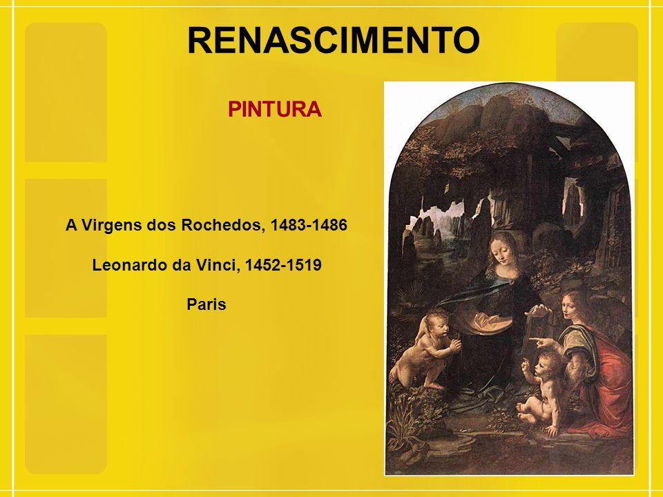 A Virgens dos Rochedos, 1483-1486