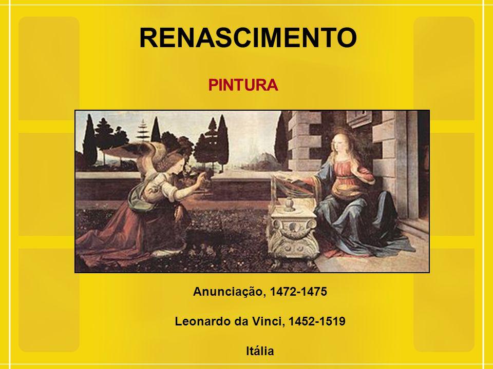 RENASCIMENTO PINTURA Anunciação, 1472-1475