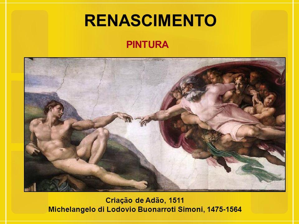 Michelangelo di Lodovio Buonarroti Simoni, 1475-1564