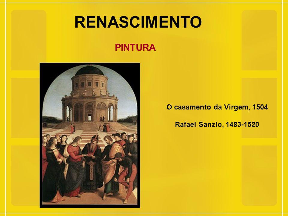 RENASCIMENTO PINTURA O casamento da Virgem, 1504
