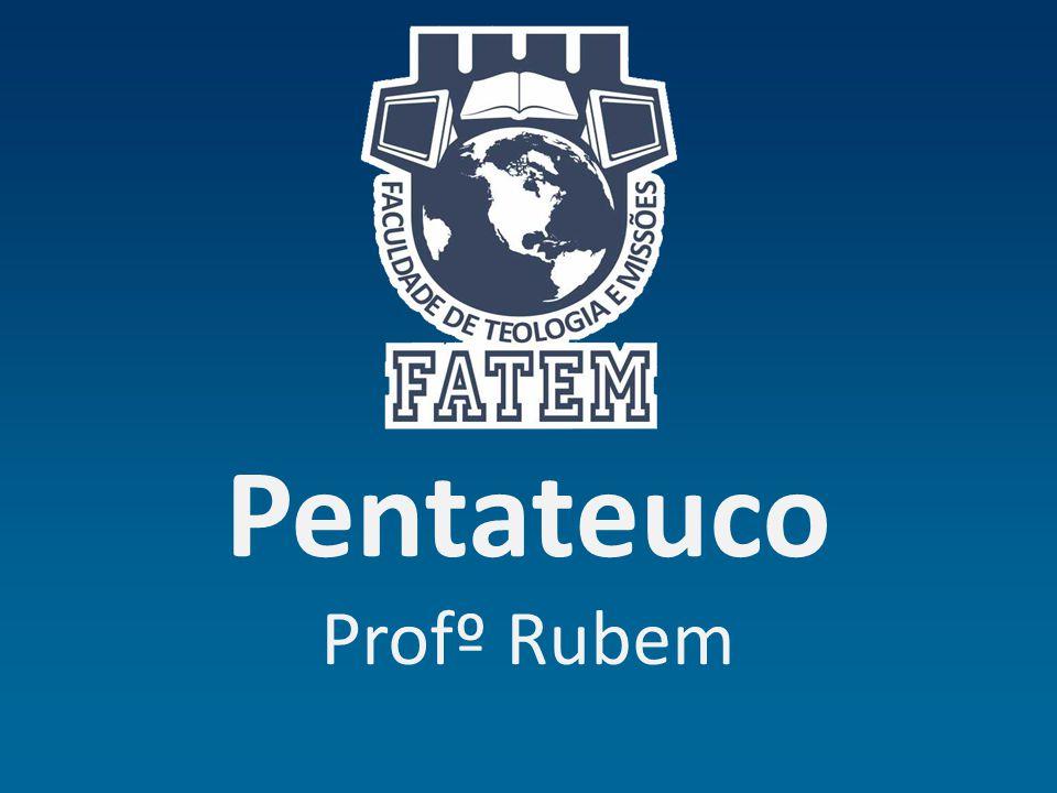 Pentateuco Profº Rubem