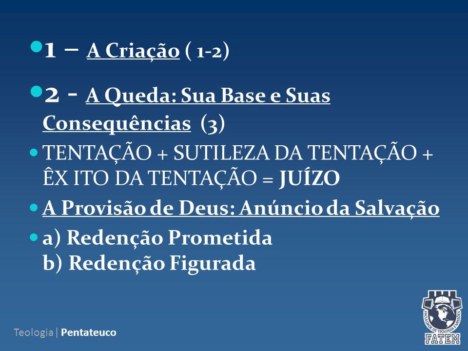 2 - A Queda: Sua Base e Suas Consequências (3)