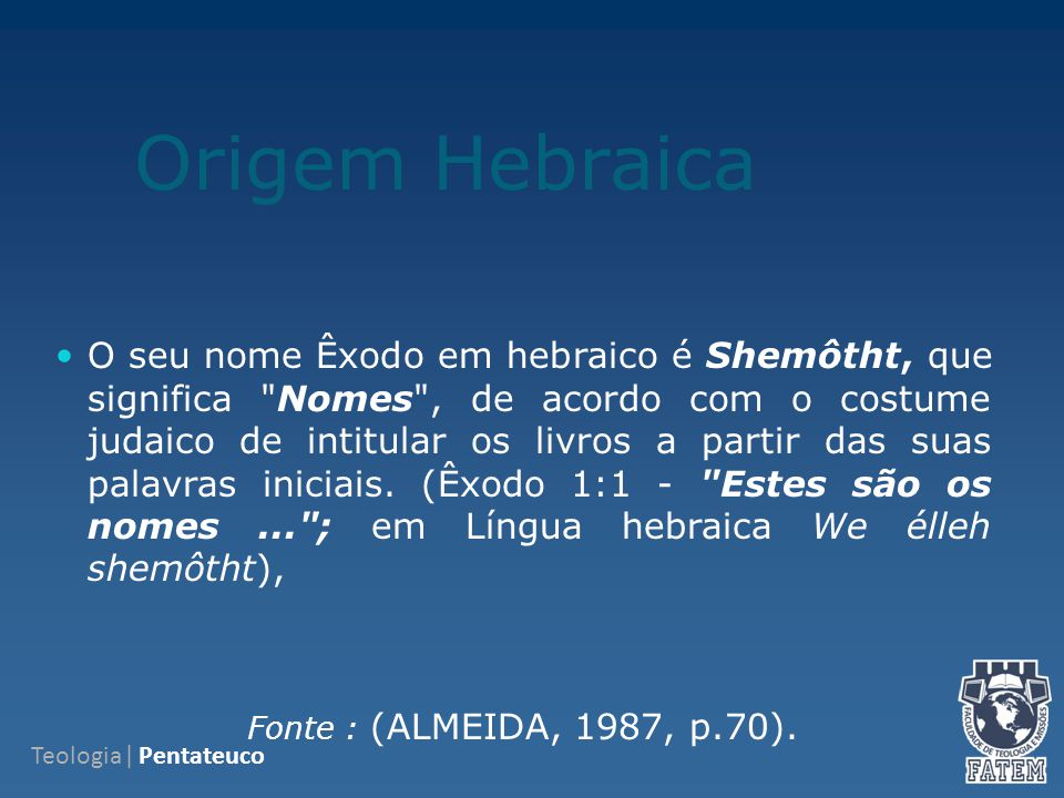 Origem Hebraica