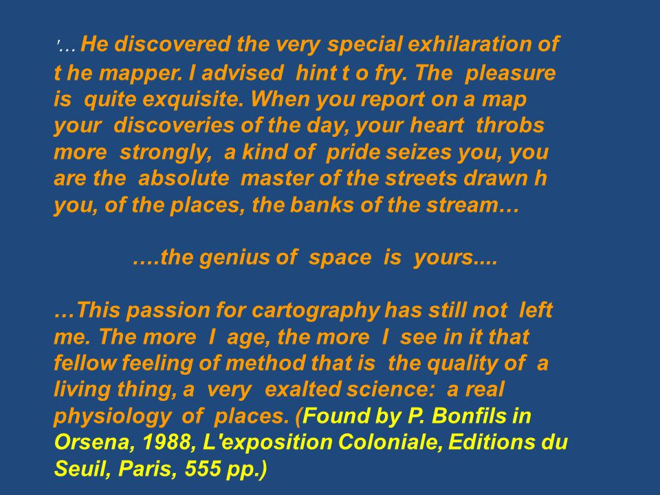 ….the genius of space is yours....