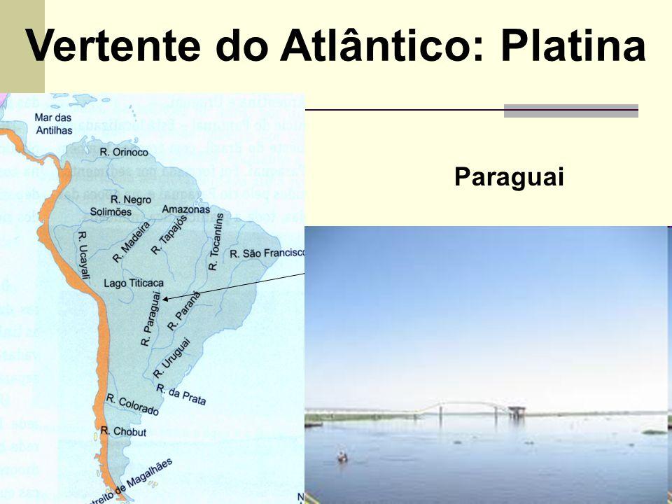 Vertente do Atlântico: Platina