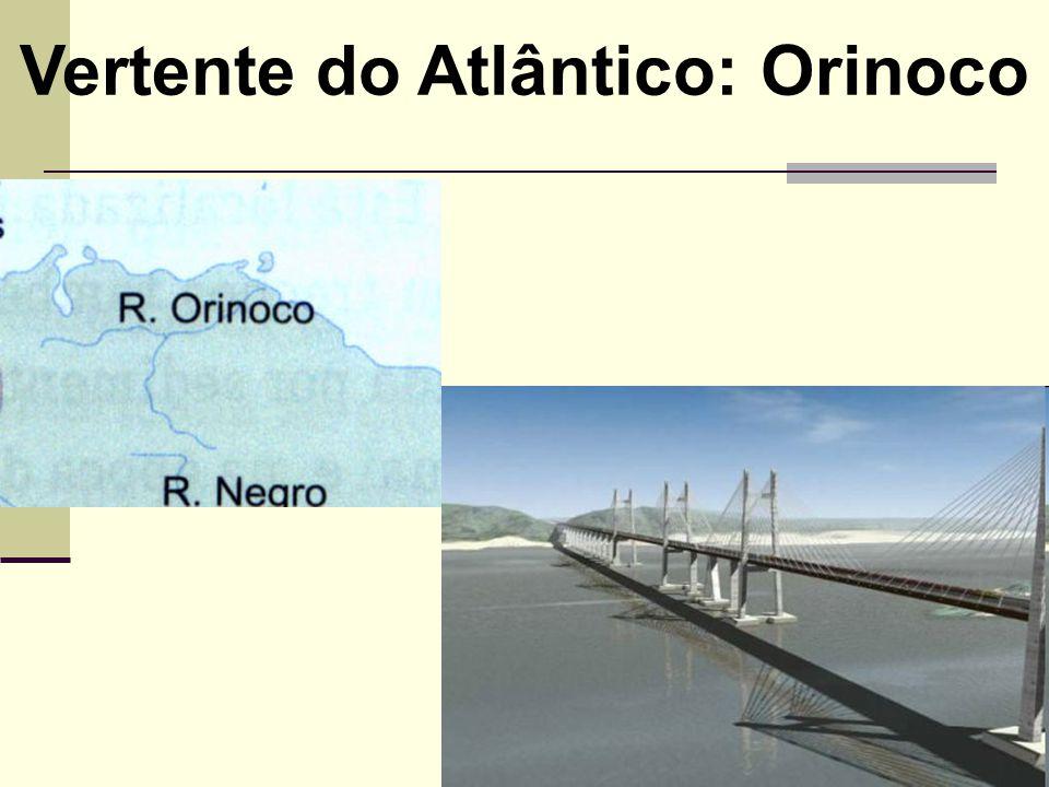 Vertente do Atlântico: Orinoco