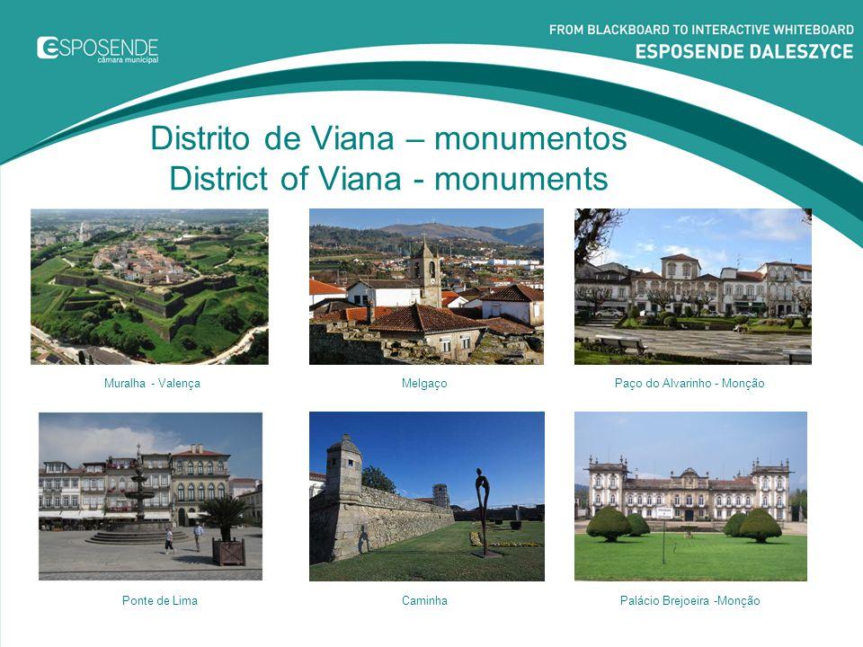 Distrito de Viana – monumentos District of Viana - monuments