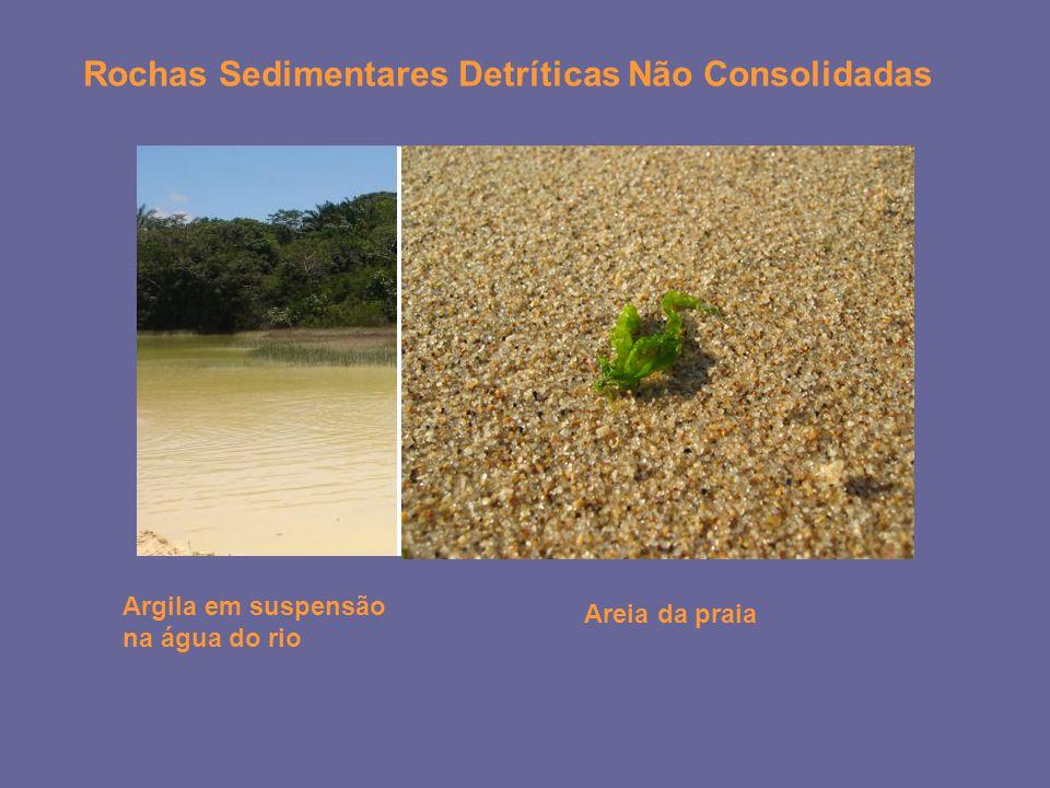 Rochas Sedimentares Detríticas Não Consolidadas