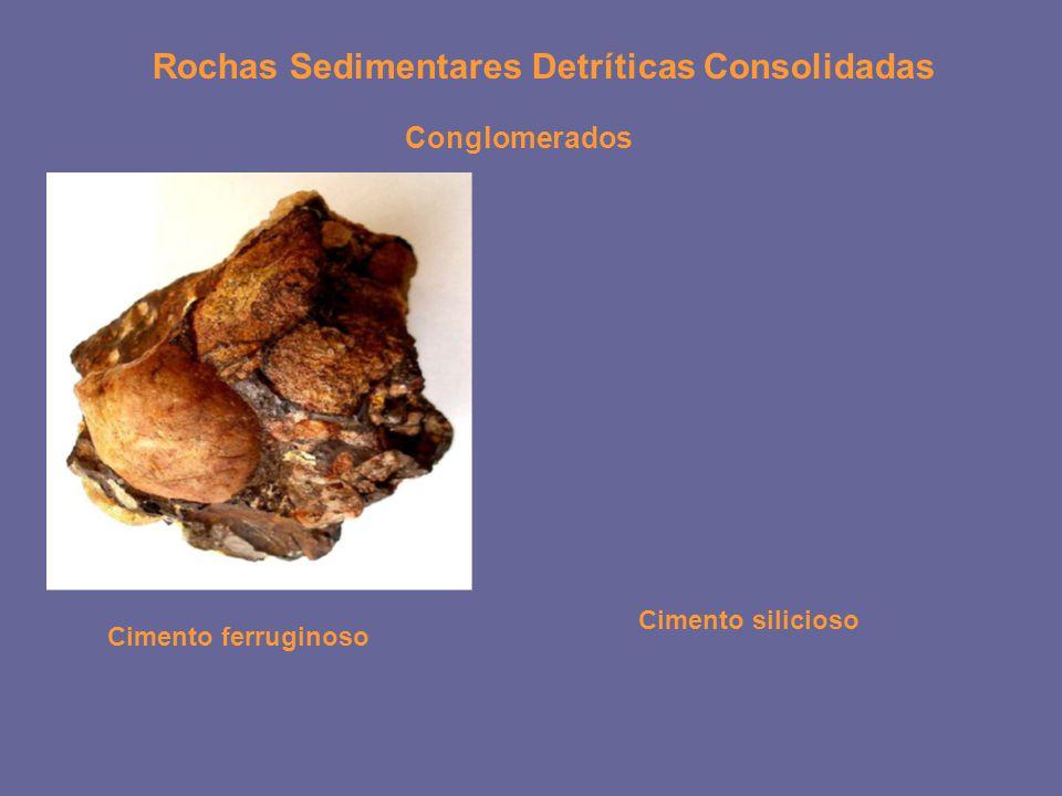 Rochas Sedimentares Detríticas Consolidadas