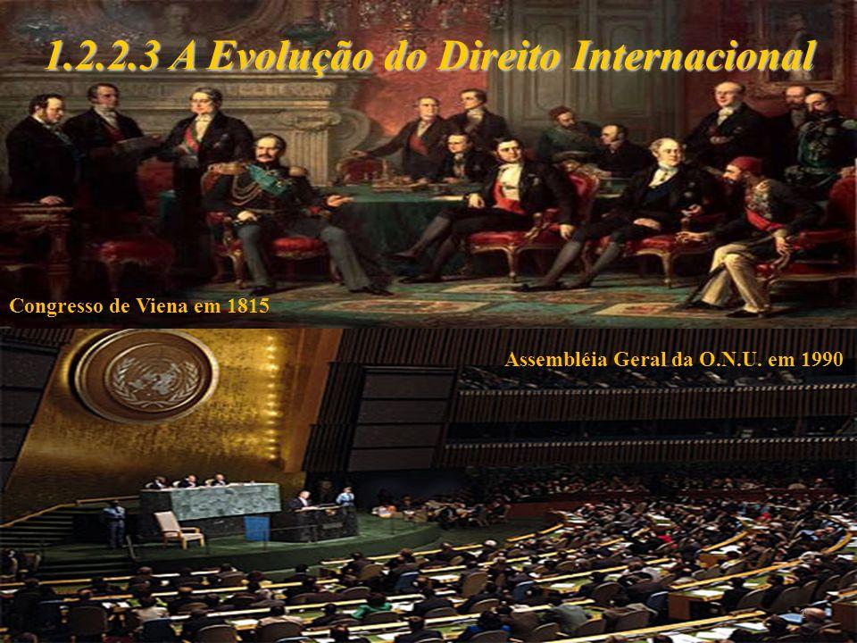 1.2.2.3 A Evolução do Direito Internacional