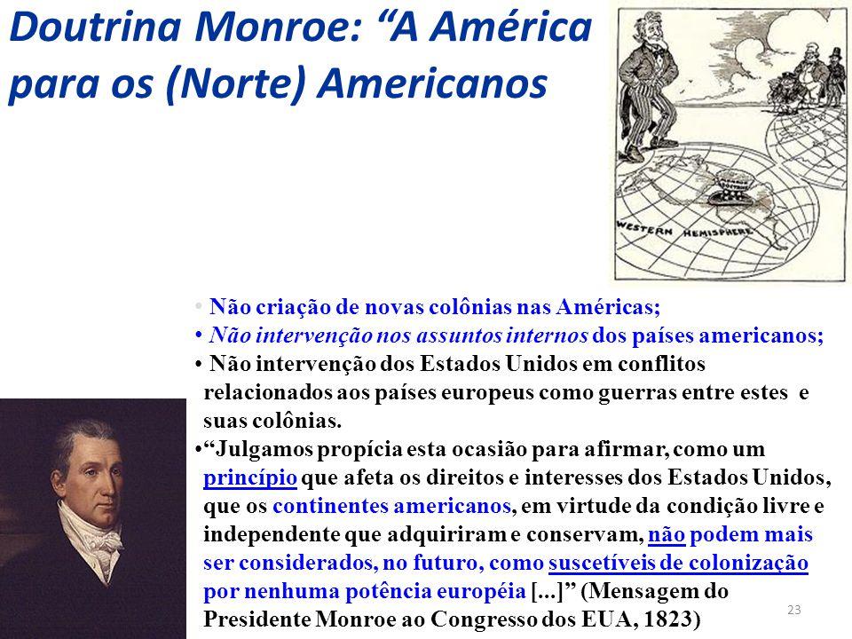 Doutrina Monroe: A América para os (Norte) Americanos