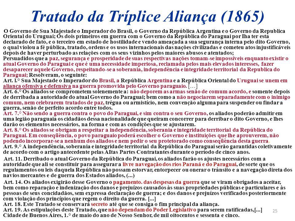 Tratado da Tríplice Aliança (1865)