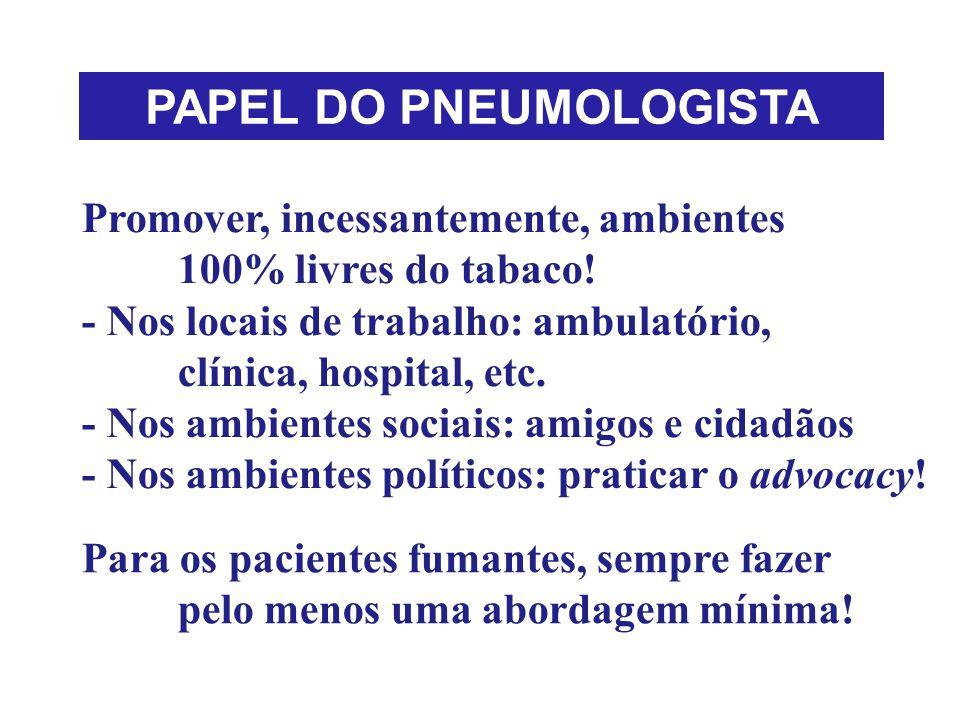 PAPEL DO PNEUMOLOGISTA