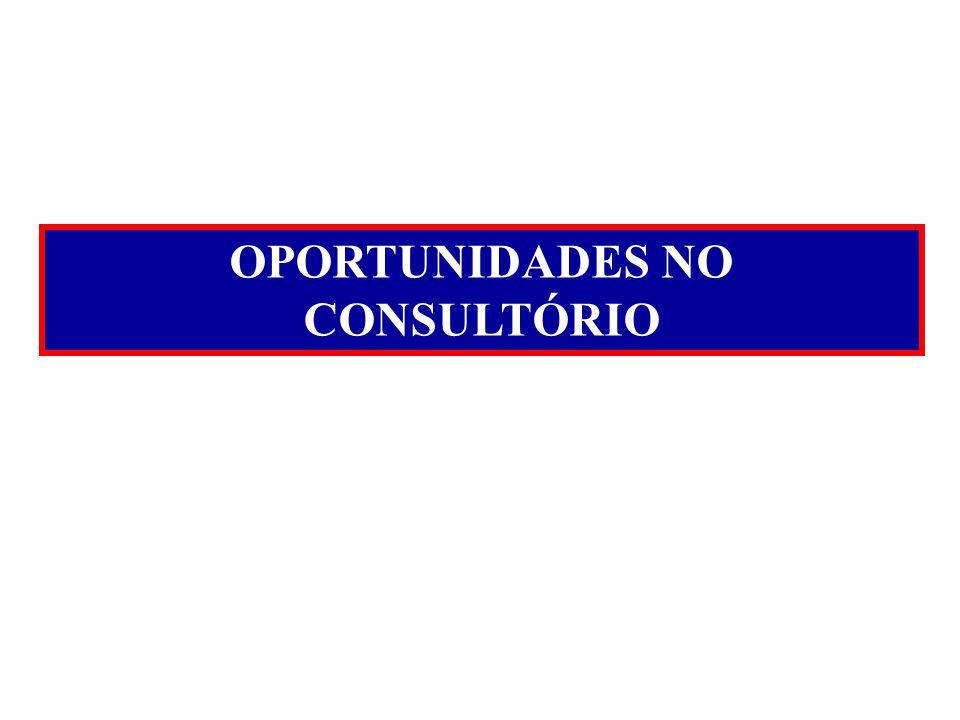 OPORTUNIDADES NO CONSULTÓRIO