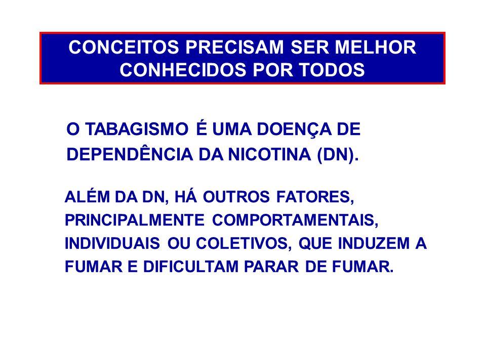 CONCEITOS PRECISAM SER MELHOR CONHECIDOS POR TODOS