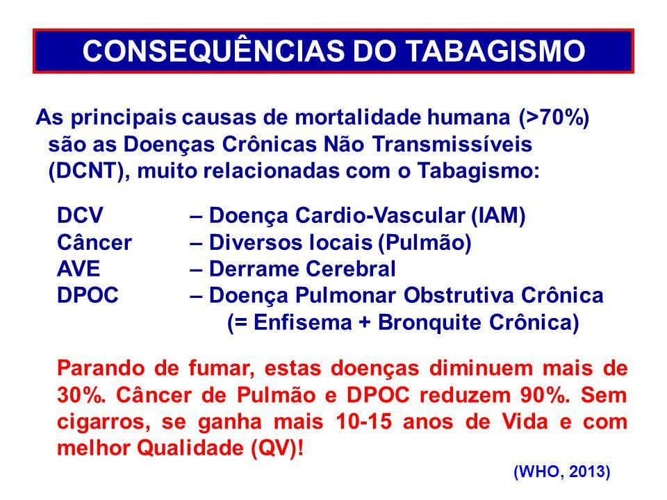 CONSEQUÊNCIAS DO TABAGISMO
