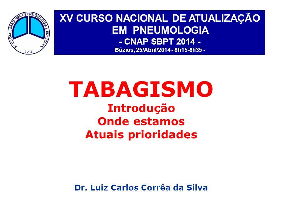 XV CURSO NACIONAL DE ATUALIZAÇÃO Dr. Luiz Carlos Corrêa da Silva