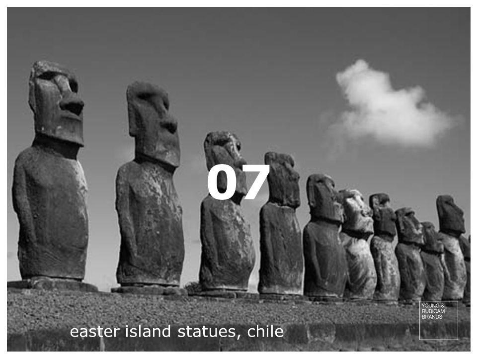 easter island statues, chile