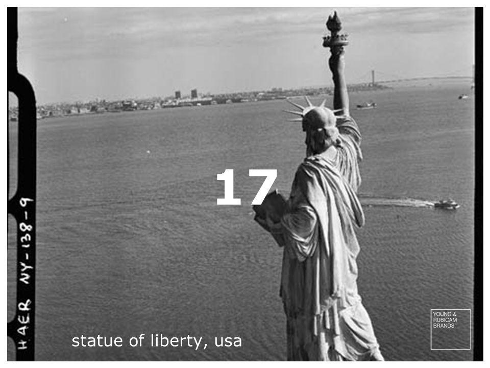 17 statue of liberty, usa
