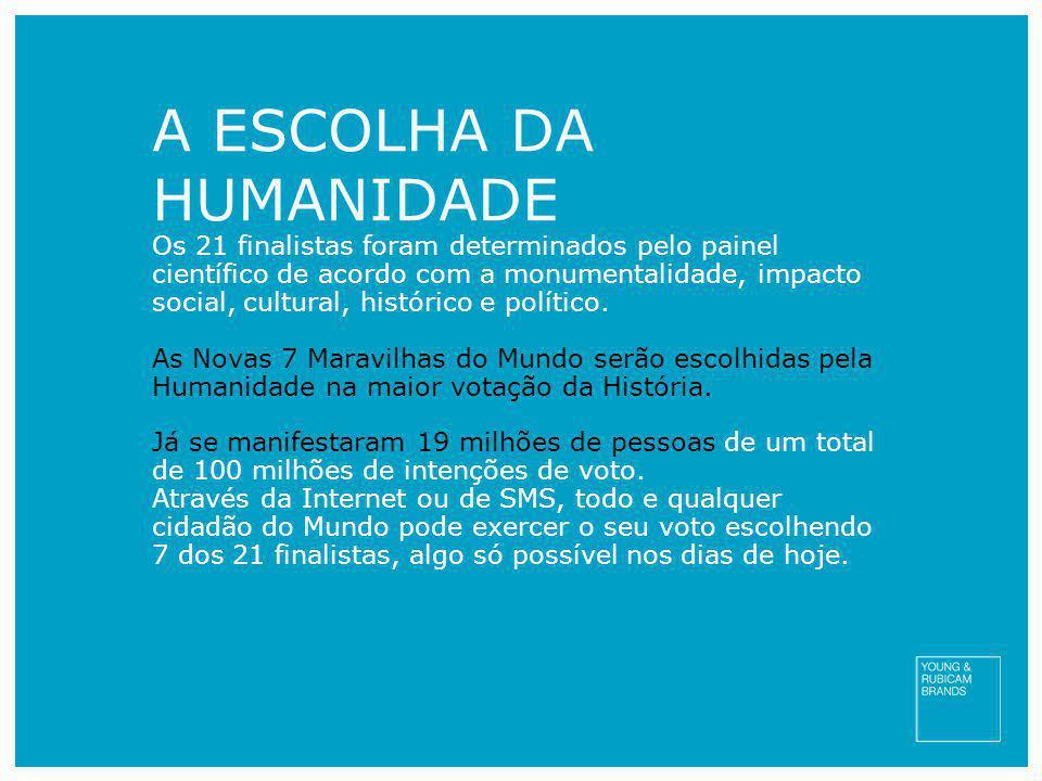 A ESCOLHA DA HUMANIDADE