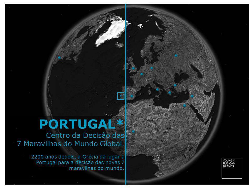 PORTUGAL* Centro da Decisão das 7 Maravilhas do Mundo Global.