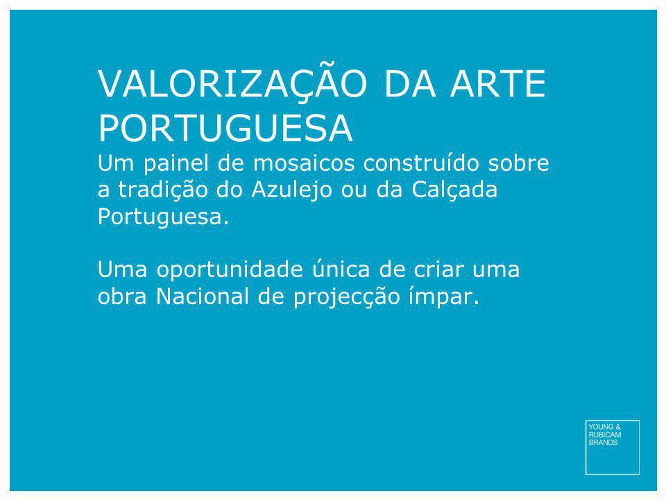 VALORIZAÇÃO DA ARTE PORTUGUESA