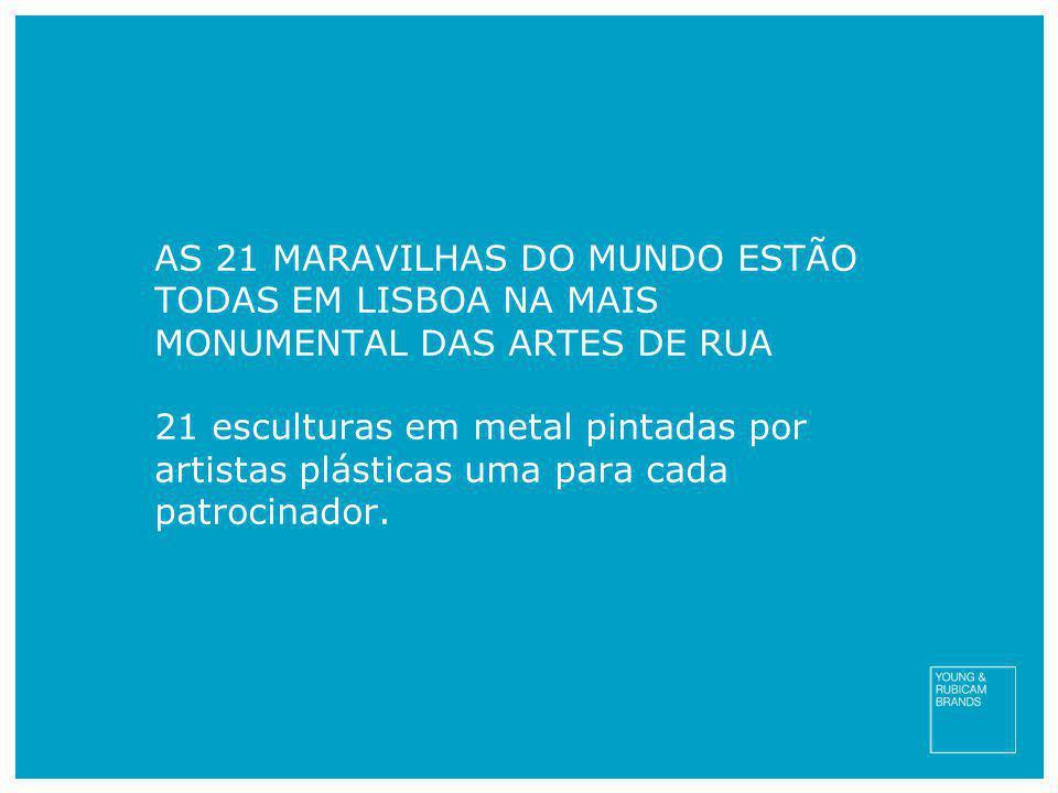 AS 21 MARAVILHAS DO MUNDO ESTÃO TODAS EM LISBOA NA MAIS MONUMENTAL DAS ARTES DE RUA