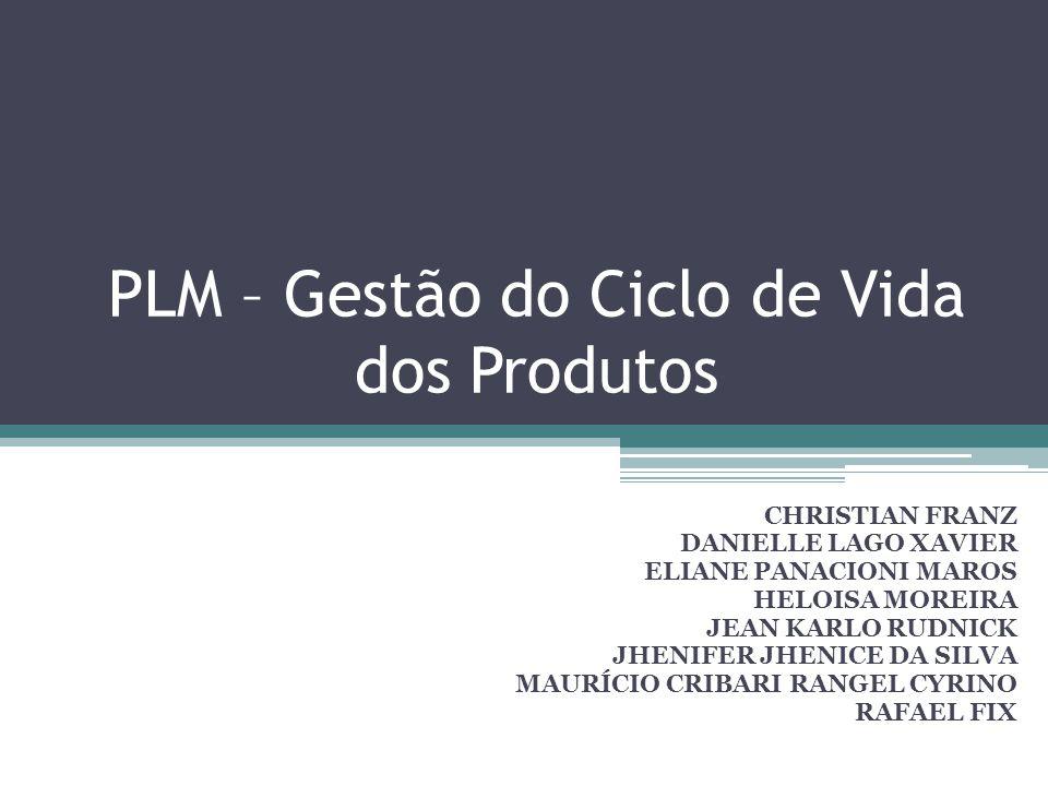 PLM – Gestão do Ciclo de Vida dos Produtos