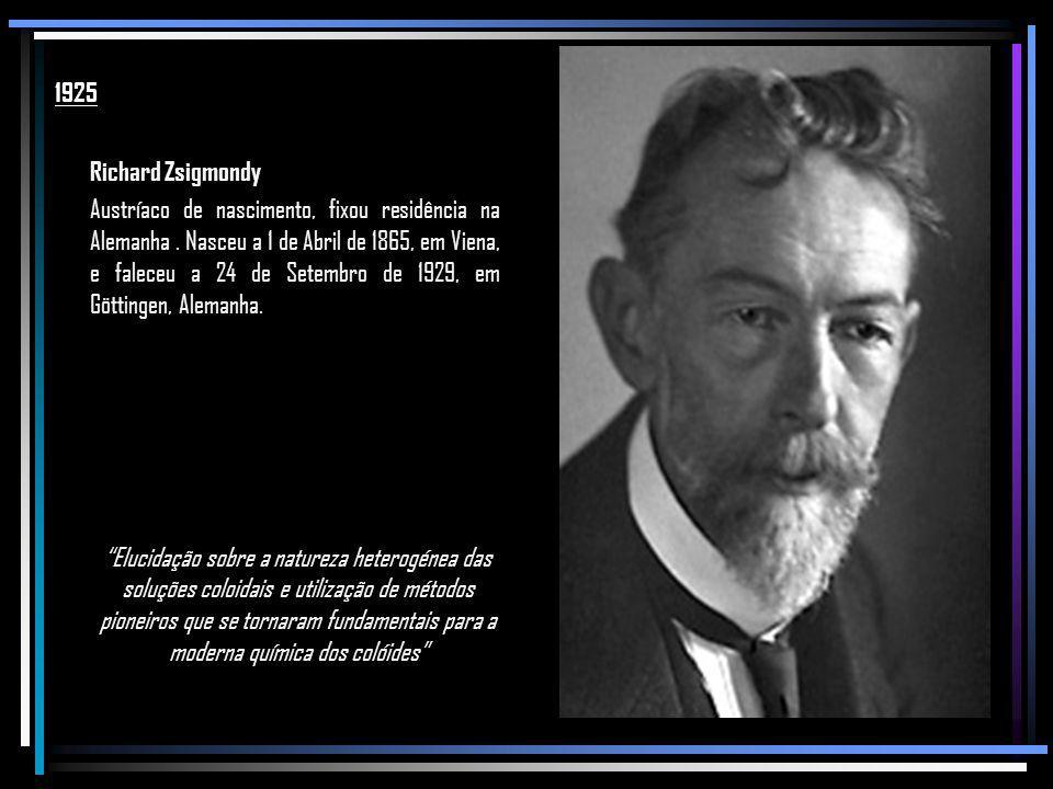 1925 Richard Zsigmondy.
