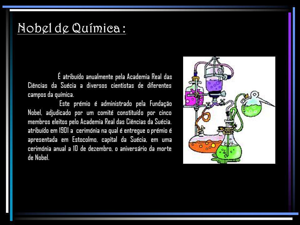 Nobel de Química :