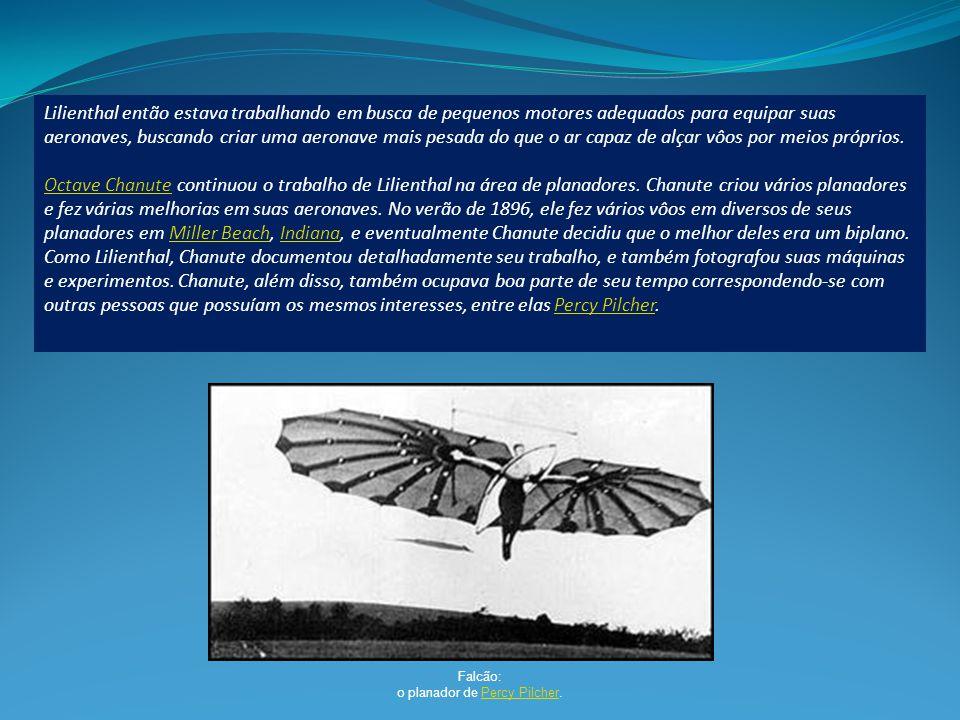 o planador de Percy Pilcher.