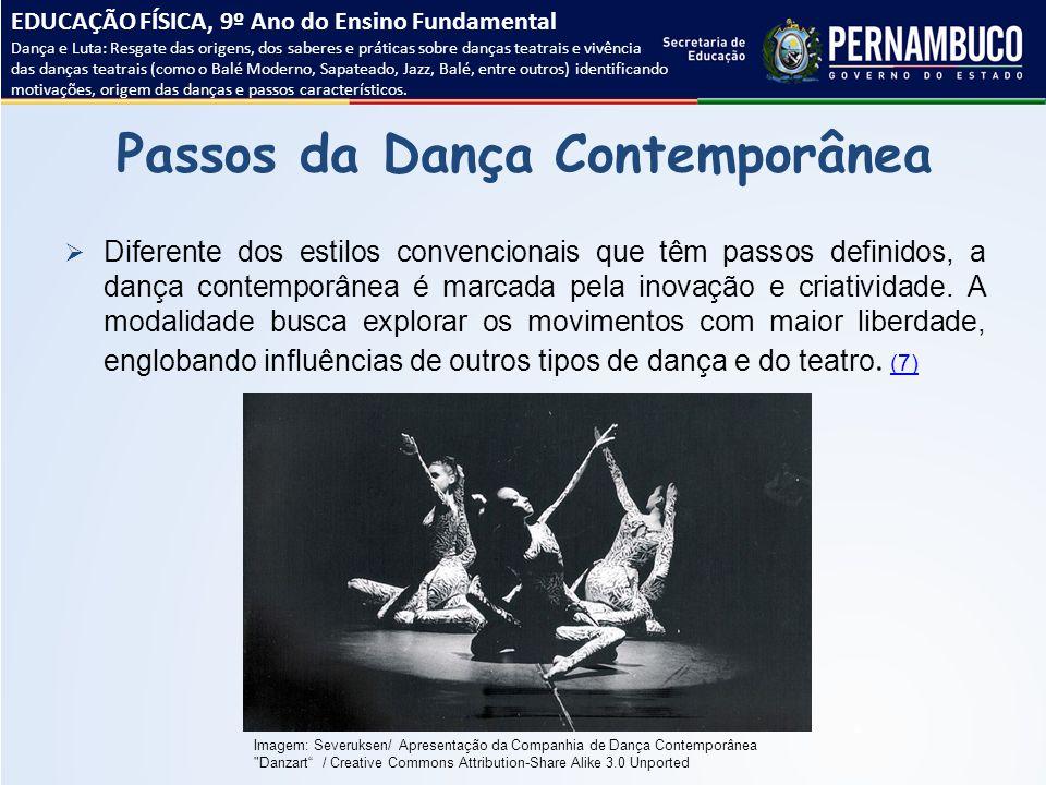 Passos da Dança Contemporânea