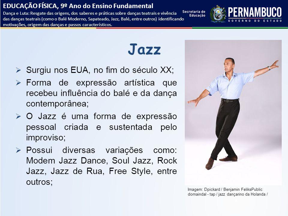 Jazz Surgiu nos EUA, no fim do século XX;