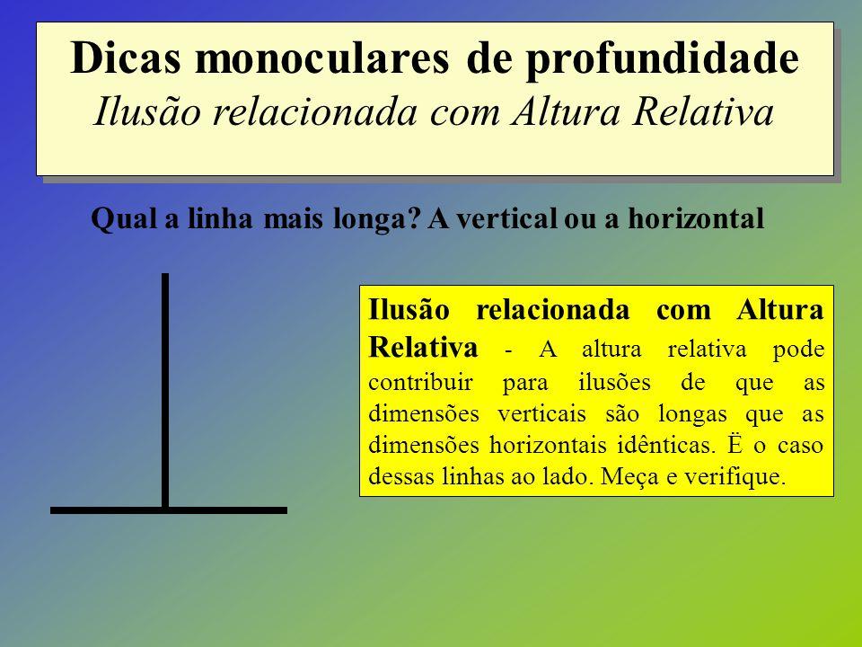 Qual a linha mais longa A vertical ou a horizontal