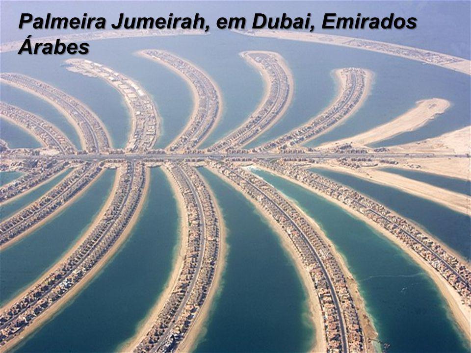Palmeira Jumeirah, em Dubai, Emirados Árabes
