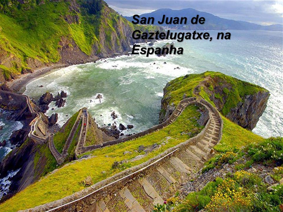 San Juan de Gaztelugatxe, na Espanha