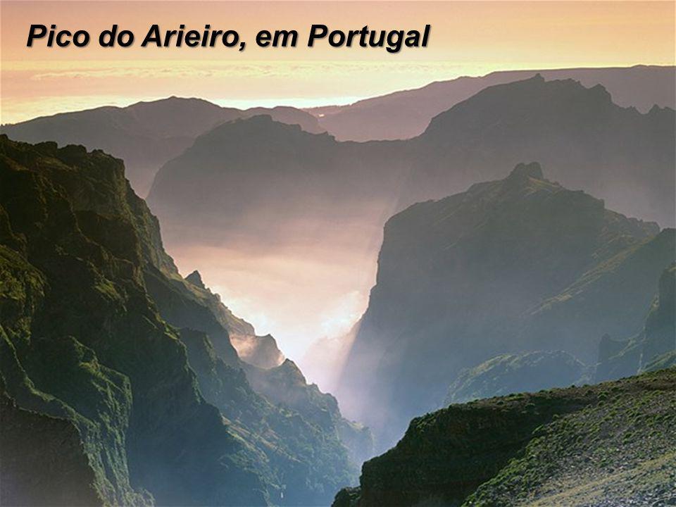 Pico do Arieiro, em Portugal
