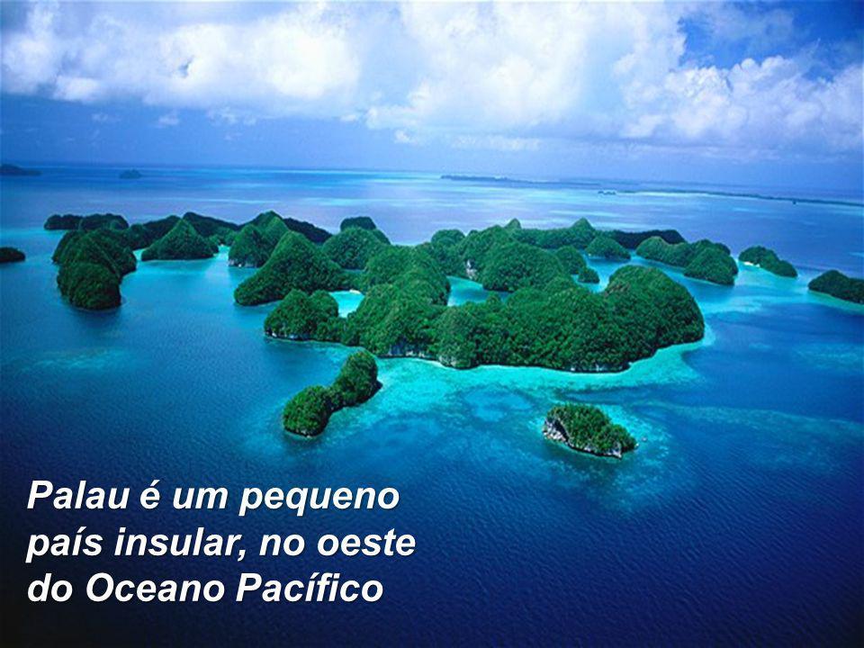 Palau é um pequeno país insular, no oeste do Oceano Pacífico