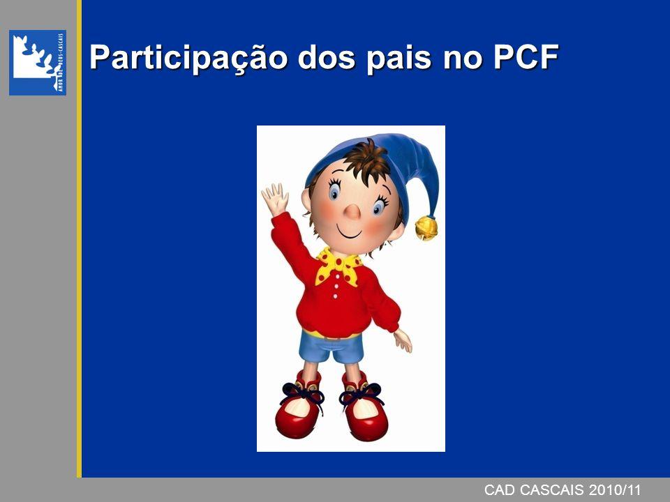 Participação dos pais no PCF
