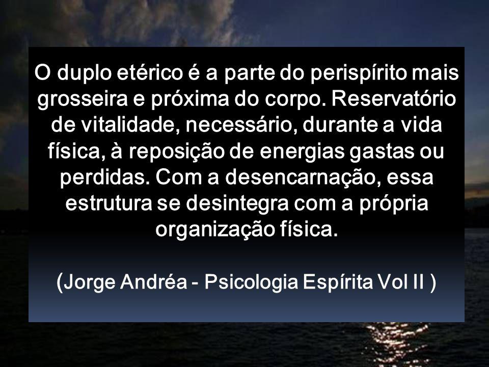 (Jorge Andréa - Psicologia Espírita Vol II )