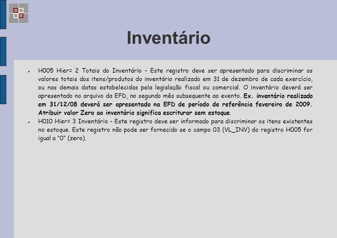 Inventário