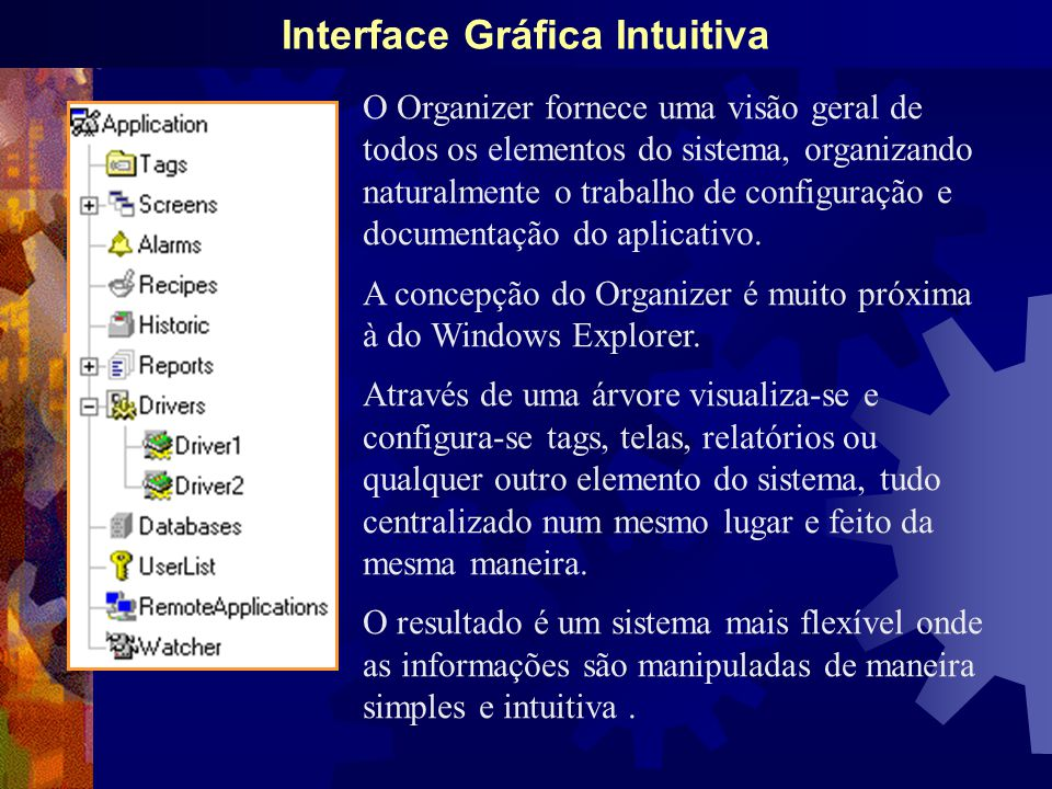Interface Gráfica Intuitiva