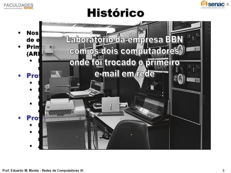 Histórico Laboratório da empresa BBN com os dois computadores