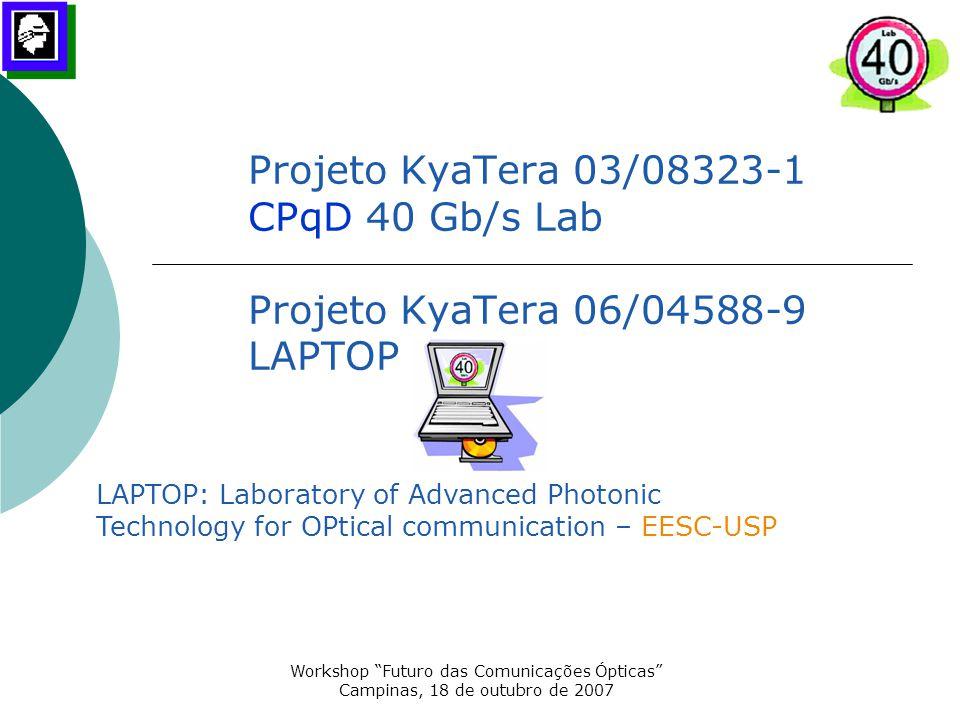 Workshop Futuro das Comunicações Ópticas