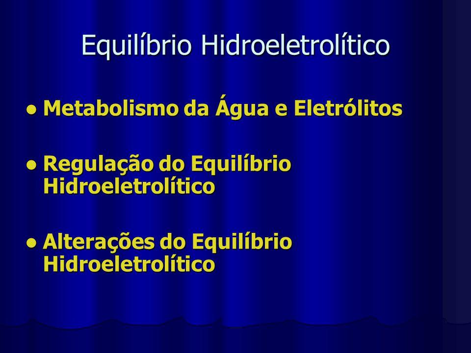 Equilíbrio Hidroeletrolítico