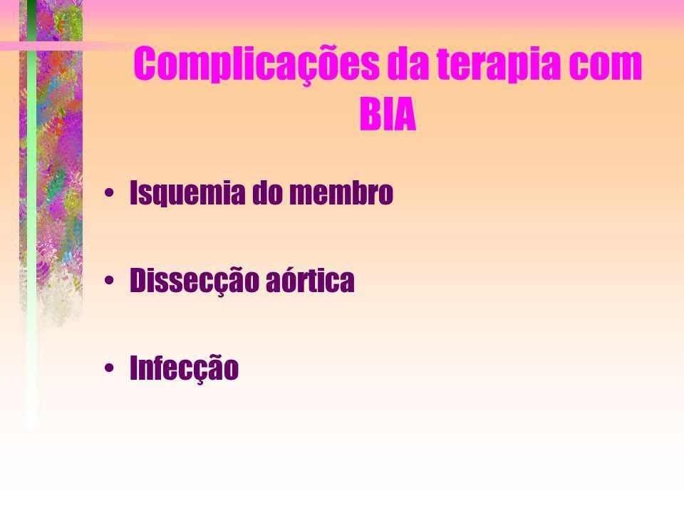 Complicações da terapia com BIA