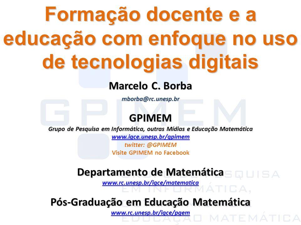 Formação docente e a educação com enfoque no uso de tecnologias digitais